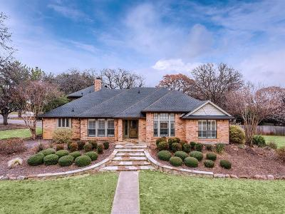 Flower Mound Single Family Home Active Contingent: 2925 Hugo Court
