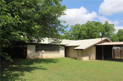 Mineral Wells Single Family Home Active Option Contract: 1800 22nd Avenue SE