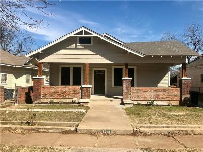 North Fort Worth Single Family Home For Sale: 1414 Harrington Avenue