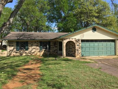Grand Saline TX Single Family Home For Sale: $70,000
