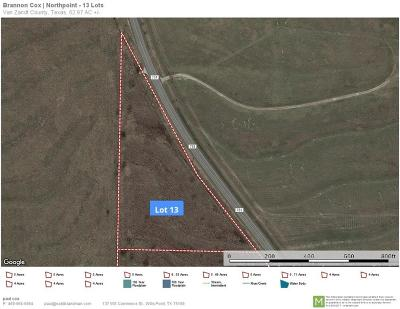 Wills Point Residential Lots & Land For Sale: Tbd Fm 751 Highway