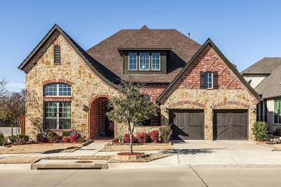 Flower Mound Single Family Home Active Option Contract: 601 Heritage Lane