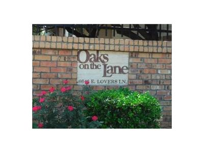 Condo For Sale: 6646 E Lovers Lane #1802