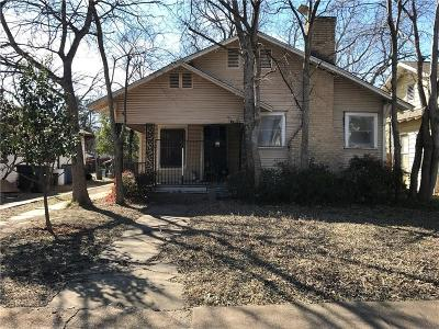 Dallas Single Family Home Active Option Contract: 607 S Glasgow Drive