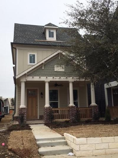 Coppell Single Family Home For Sale: 739 Hammond Street