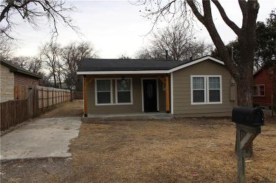 White Settlement Single Family Home Active Option Contract: 636 Kimbrough Street