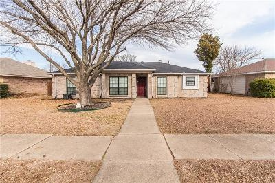 Sachse Single Family Home Active Option Contract: 3208 James Street