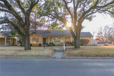 Brownwood Single Family Home For Sale: 2001 Belmeade Street