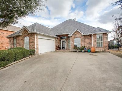 Rowlett Single Family Home Active Option Contract: 9906 Lincolnshire Lane