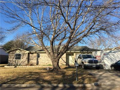 Benbrook Single Family Home For Sale: 1116 Usher Street