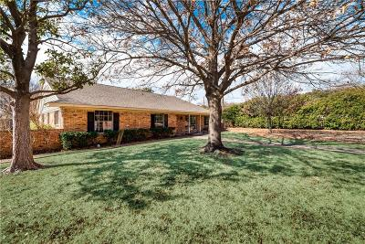 Farmers Branch Single Family Home For Sale: 2869 Millwood Circle