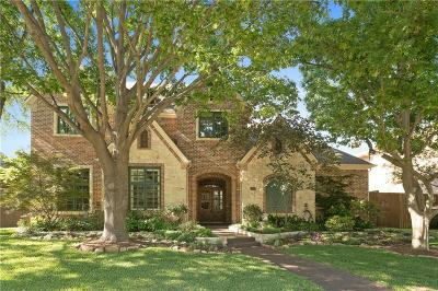 Plano Single Family Home Active Option Contract: 5805 McCall Drive