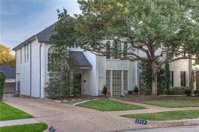 Fort Worth Single Family Home For Sale: 1717 Carleton Avenue
