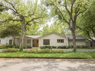 Fort Worth Single Family Home For Sale: 3701 Cresthaven Terrace