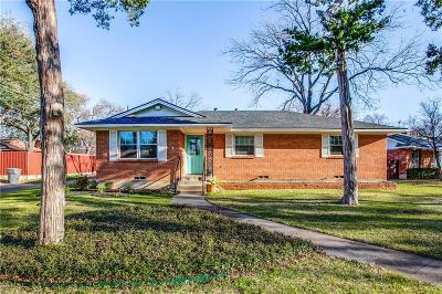 Dallas Single Family Home For Sale: 3215 Cliffoak Drive
