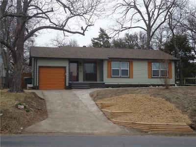Sherman Single Family Home Active Option Contract: 917 W Washington Street