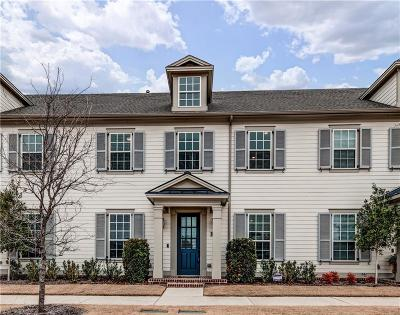 Frisco Townhouse For Sale: 8461 Canal Street