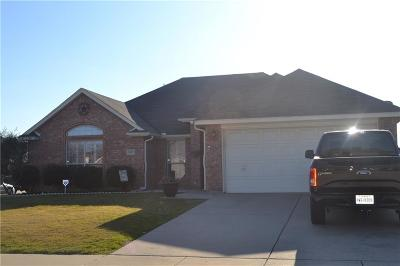 Burleson Single Family Home Active Contingent: 1001 Carlin Lane