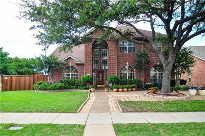 Plano Single Family Home Active Option Contract: 4617 Reunion Drive