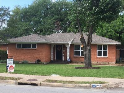 Single Family Home For Sale: 6468 Fisher Road