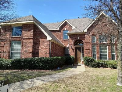 McKinney Single Family Home Active Option Contract: 1712 Pecan Valley Drive