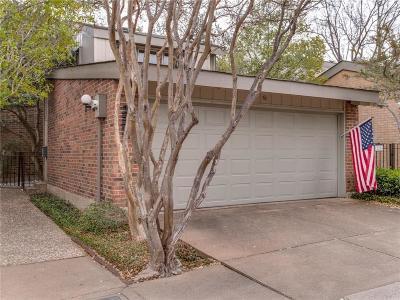 Dallas Townhouse For Sale: 12206 Montego Plaza