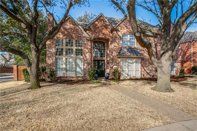 Plano Single Family Home Active Contingent: 1621 Watch Hill Drive