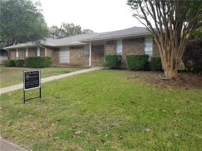 Desoto Single Family Home Active Option Contract: 1112 Gracelane Drive