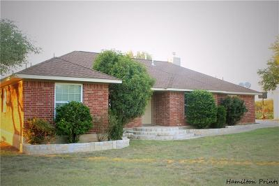 Brownwood Single Family Home For Sale: 3121 Shady Oaks Drive