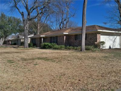 Canton TX Single Family Home For Sale: $149,500