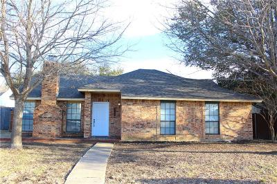 The Colony Single Family Home For Sale: 6825 Anderson Drive