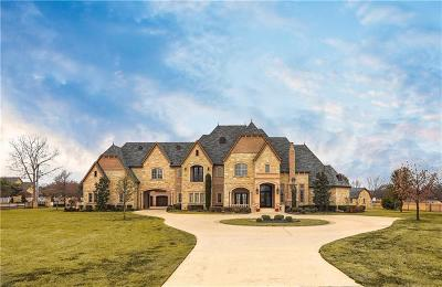 Colleyville Single Family Home For Sale: 6600 Pleasant Run Road