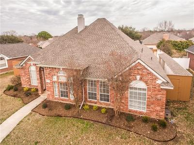 Lewisville Single Family Home Active Option Contract: 2217 Mallard Court