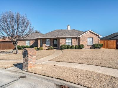 Wylie Single Family Home Active Option Contract: 512 Vicki Lane