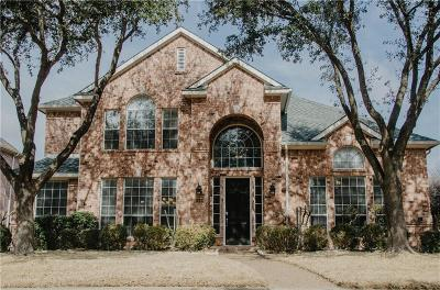 Plano Single Family Home Active Option Contract: 4589 Spencer Drive