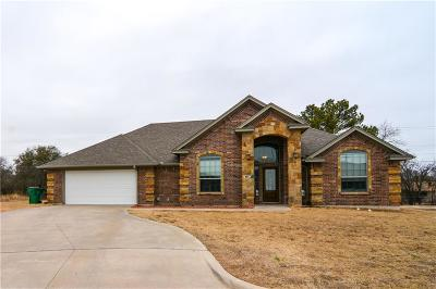 Stephenville Single Family Home Active Option Contract: 1110 Greens Creek Circle