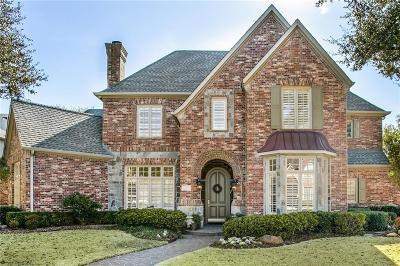 Plano Single Family Home Active Option Contract: 5120 Marble Falls Lane