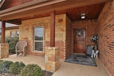 Abilene Single Family Home For Sale: 6401 Tradition Drive