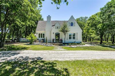 Fort Worth Single Family Home Active Option Contract: 8628 S Fm 1187 W