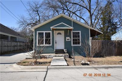 Mckinney Single Family Home For Sale: 611 N Wood Street