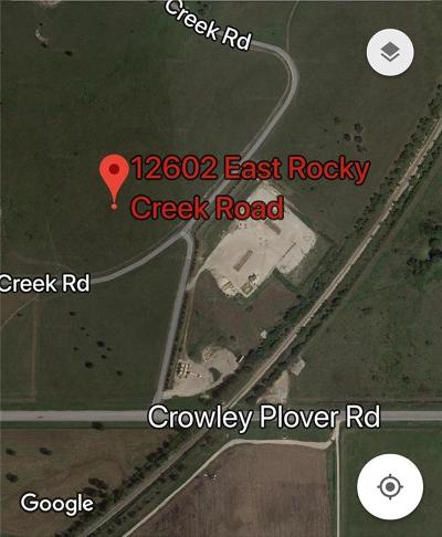 Tarrant County Residential Lots & Land For Sale: 12602 E Rocky Creek Road