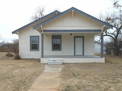 Eastland County Single Family Home For Sale: 609 S Halbryan Street