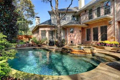 Coppell Single Family Home Active Option Contract: 109 Newcastle Court