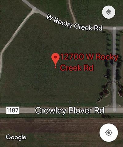 Crowley Residential Lots & Land For Sale: 12700 W Rocky Creek Road