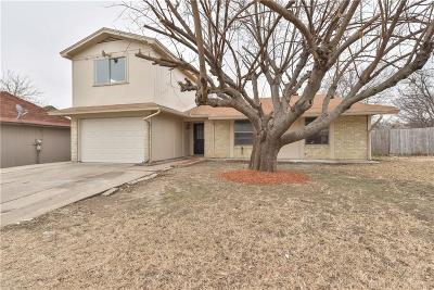 Haltom City Single Family Home Active Option Contract: 5736 Judie Court