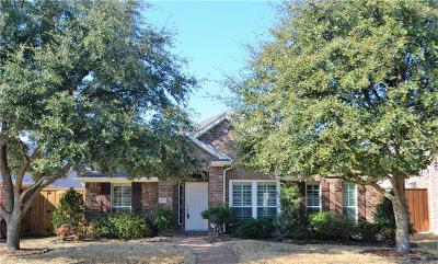 Allen Single Family Home Active Option Contract: 1931 Palisade Court