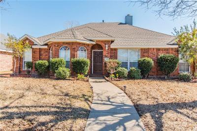 Allen Single Family Home Active Option Contract: 1510 Scottsman Drive