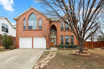 Bedford Single Family Home Active Option Contract: 4124 Lone Oak Lane