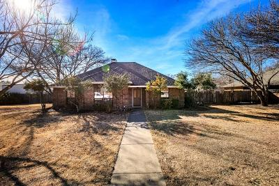 Sachse Single Family Home Active Option Contract: 6519 Parkridge Drive