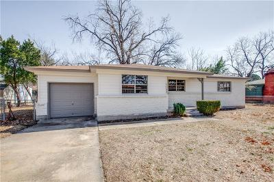 Bedford, Euless, Hurst Single Family Home For Sale: 1132 Valentine Street